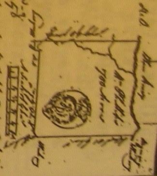 Closeup of Wm Phillips grant 1761