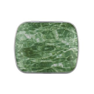 Green Water Jelly Belly Tins
