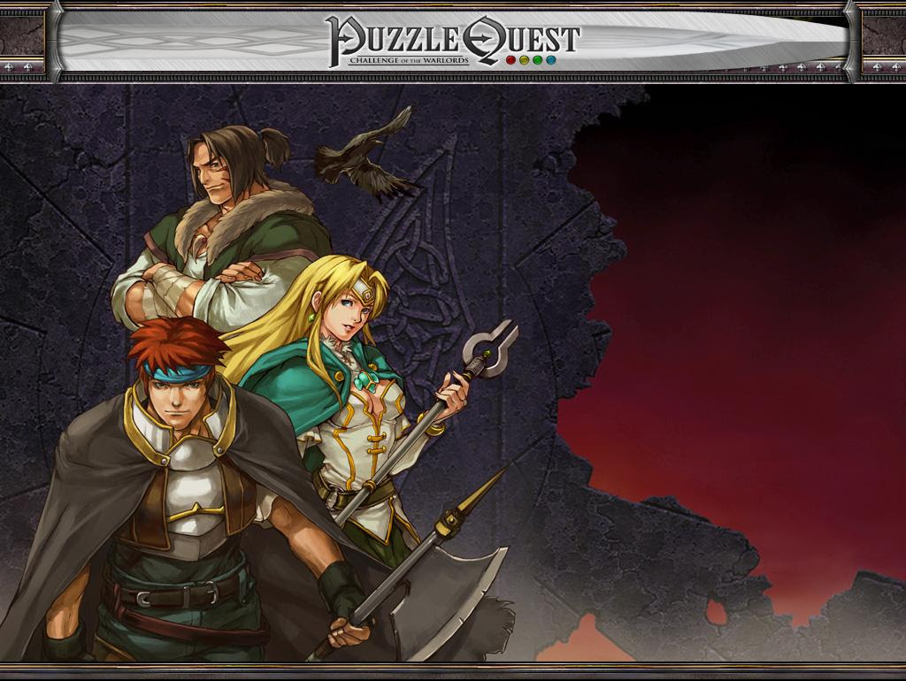 Puzzle Quest splash screen