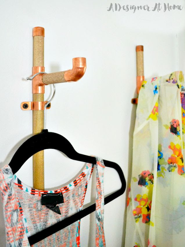 display cute clothes and plan fab outifts in this DIY outfit planning wall organizer