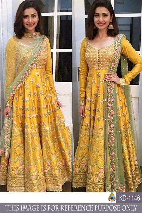 gown indian pakistani wedding party wear ethnic salwar