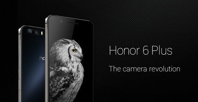 Huawei Honor 6 Plus dual camera now available