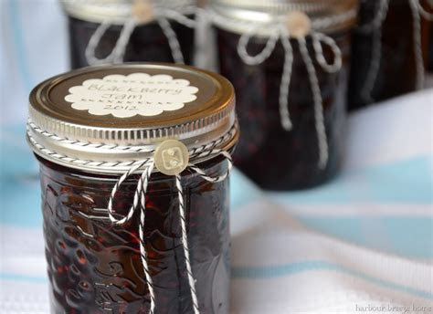 Decorating Jam Jar as Gifts   Harbour Breeze Home