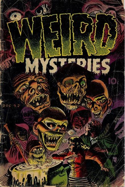 Weird Mysteries 002 (Gillmor - Feb 1952) 001