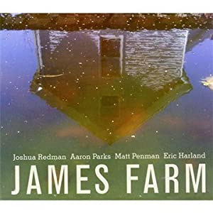 Joshua Redman  -  James Farm  cover