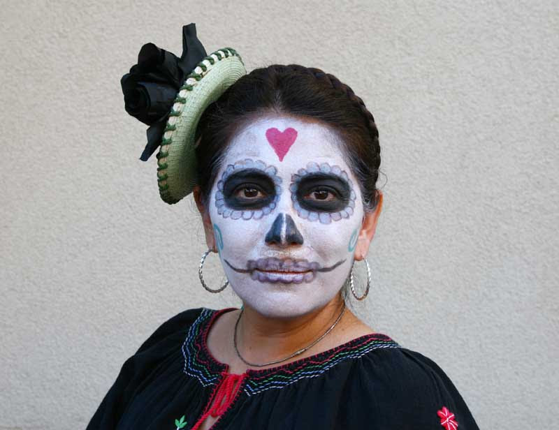 Out Of The Archives Dia De Los Muertos Day Of The Dead Artist
