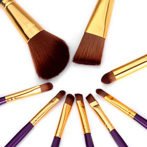 9PCS High-end Dresser Basic Brush Collection Cosmetic Blush Brush Smokey Eyeliner Brush Make-up Tool Set