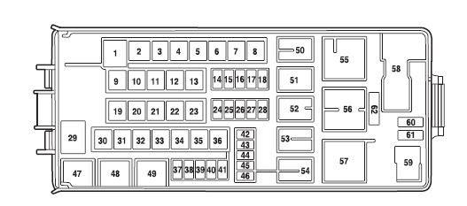 2002 Ford F 150 Fuse Box Diagram Under Hood
