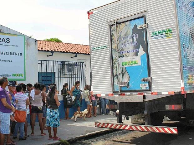 Pescado será distribuído em várias zonas de Manaus (Foto: Divulgação/Semcom)