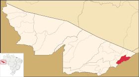 Localização de Plácido de Castro