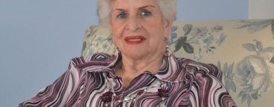 Doña Lía, la mamá de Piedad Córdoba