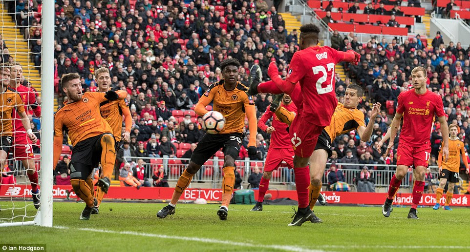 Divock Origi thumped home from close range after being set up by Daniel Sturridge to deliver a tense finale on Saturday