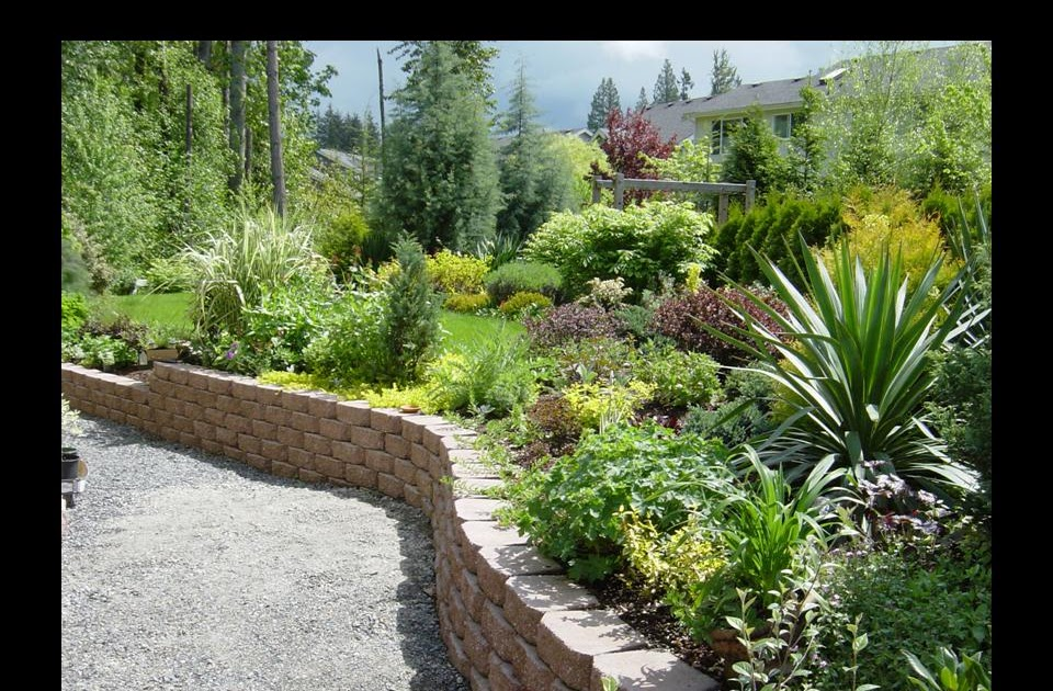 There is true river rock landscaping on a hillside - Punch home design architectural series 18 ...