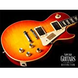Gibson Custom Shop LPR03VOWCNH1 1960 Les Paul Reissue 2013 VOS Electric Guitar, Washed Cherry