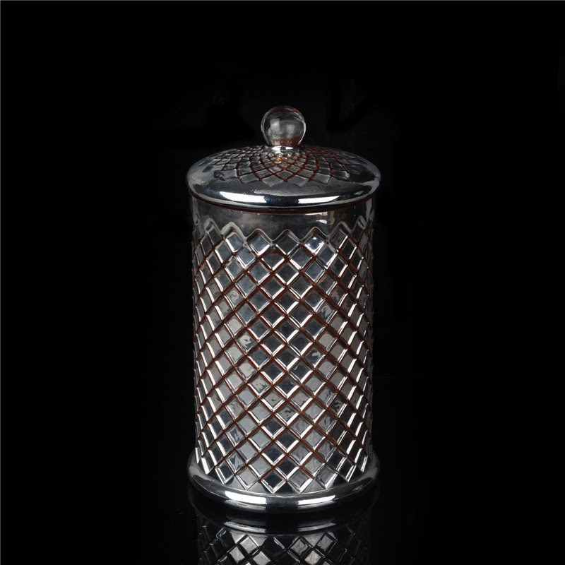 Hot sale bulk mosaic votive glass candle holder with glass ...