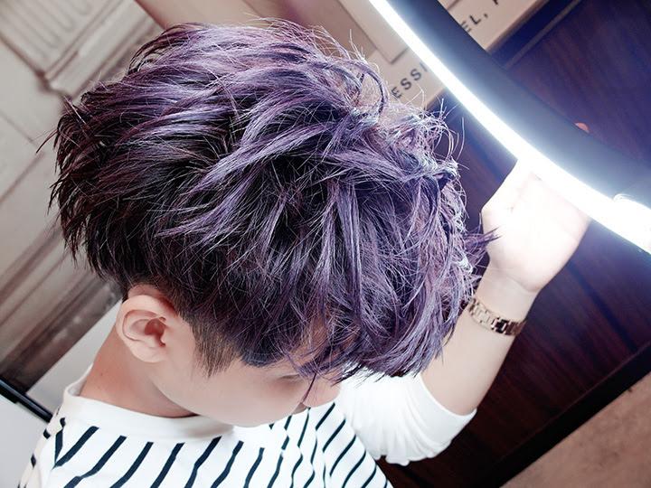 typicalben purple hair
