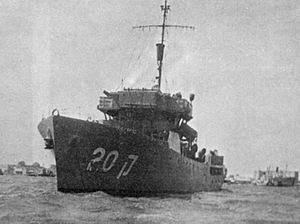 The INS Haganah (K-20) of the Israel Navy. The...