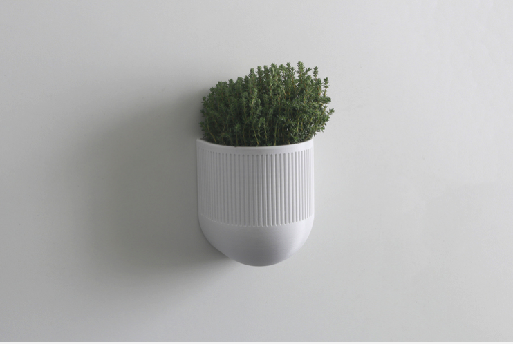 3D Printed 3D printed smart planter by filamentsdirectory Pinshape