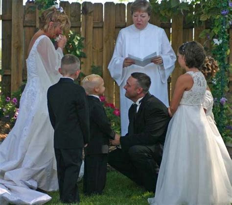 Second wedding ceremony ideas   Family Medallion for