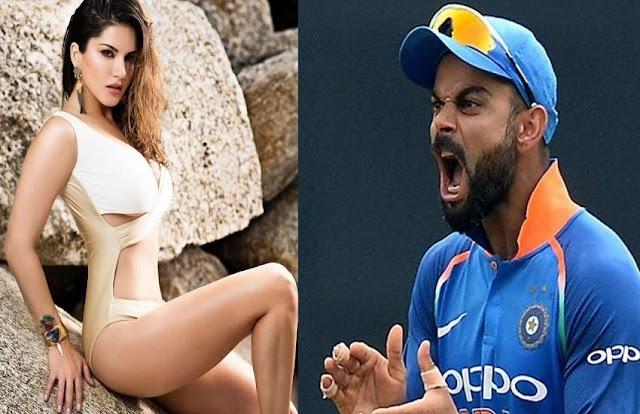 विराट कोहली नहीं बल्कि महेंद्र सिंह धोनी को पसंद करती हैं सनी लियोनी