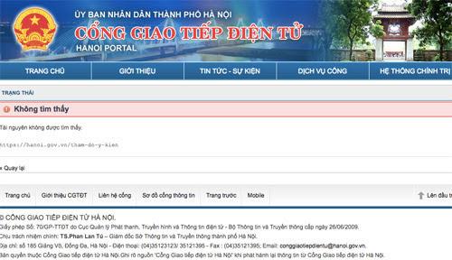 Website lấy ý kiến về loa phường Hà Nội bị 'nhồi' bình chọn ảo