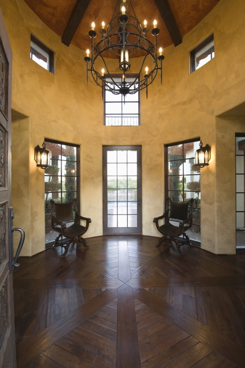 40 Fantastic Foyer (Entryways) in Luxury Houses (IMAGES)