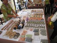 Lunbawang clay beads