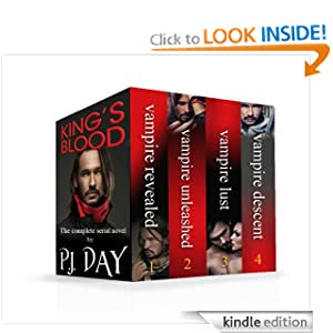 King's Blood: The Complete Vampire Thriller (Serialized Box Set)