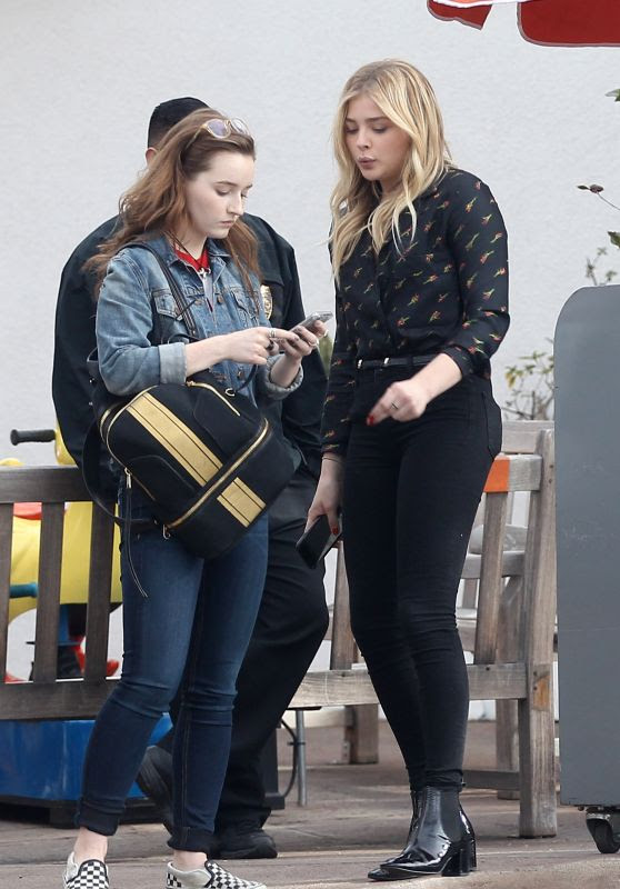 Chloe Moretz at The Glen Centre in Los Angeles, CA 1/27/2016