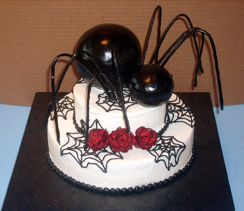 Halloween Spider Cakes Wallpaper