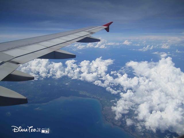 Aerial view of Sabah