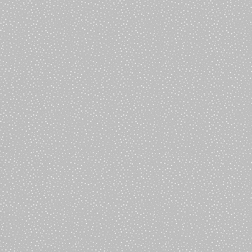 CONFETTI SNOW DOTS silver skies (cool grey light)