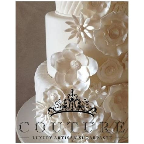 Couture 5kg White Luxury Fondant Sugarpaste Icing   from £