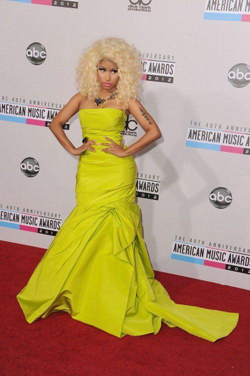 40th American Music Awards - November 18, 2012, Nicki Minaj