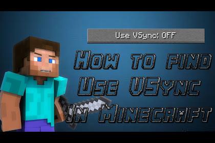 Vsync Minecraft
