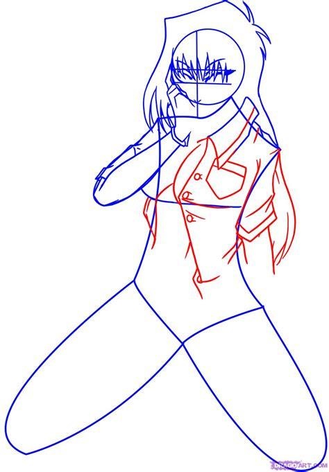 draw anime girls step  step anime females