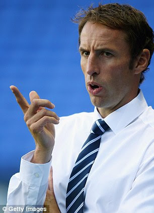 New role: Under 21 manager Gareth Southgate