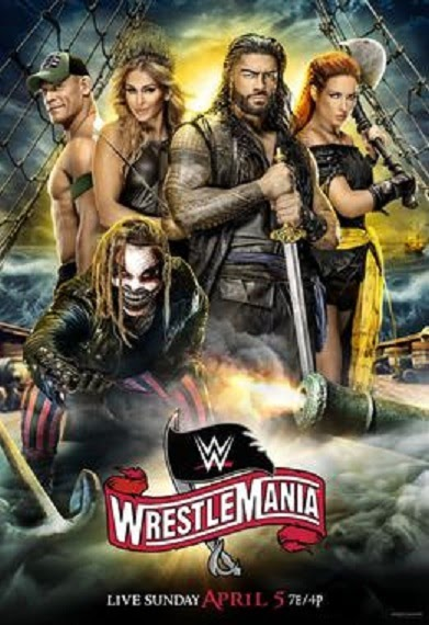 WWE WrestleMania.36  2020