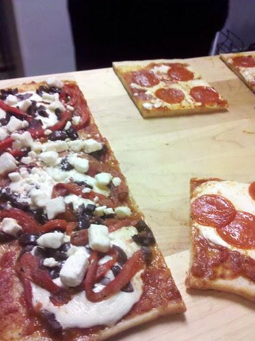 Mediterranean & Pepperoni Pizza