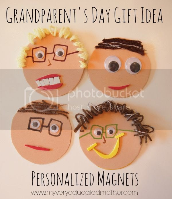 Grandparent's Day Gift Idea #kidscraft #crafting #giftidea #DIY
