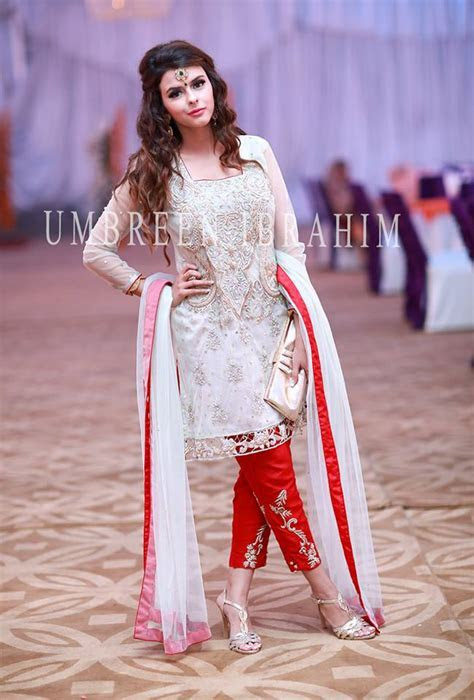 Best Party Wear Embroidered Dresses Designs 2018 2019