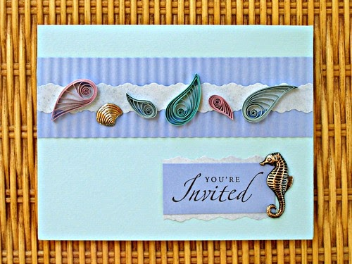 All Things Paper Quilling 101 Summer Party Invitation