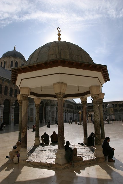 Umayyad Mosque Courtyard