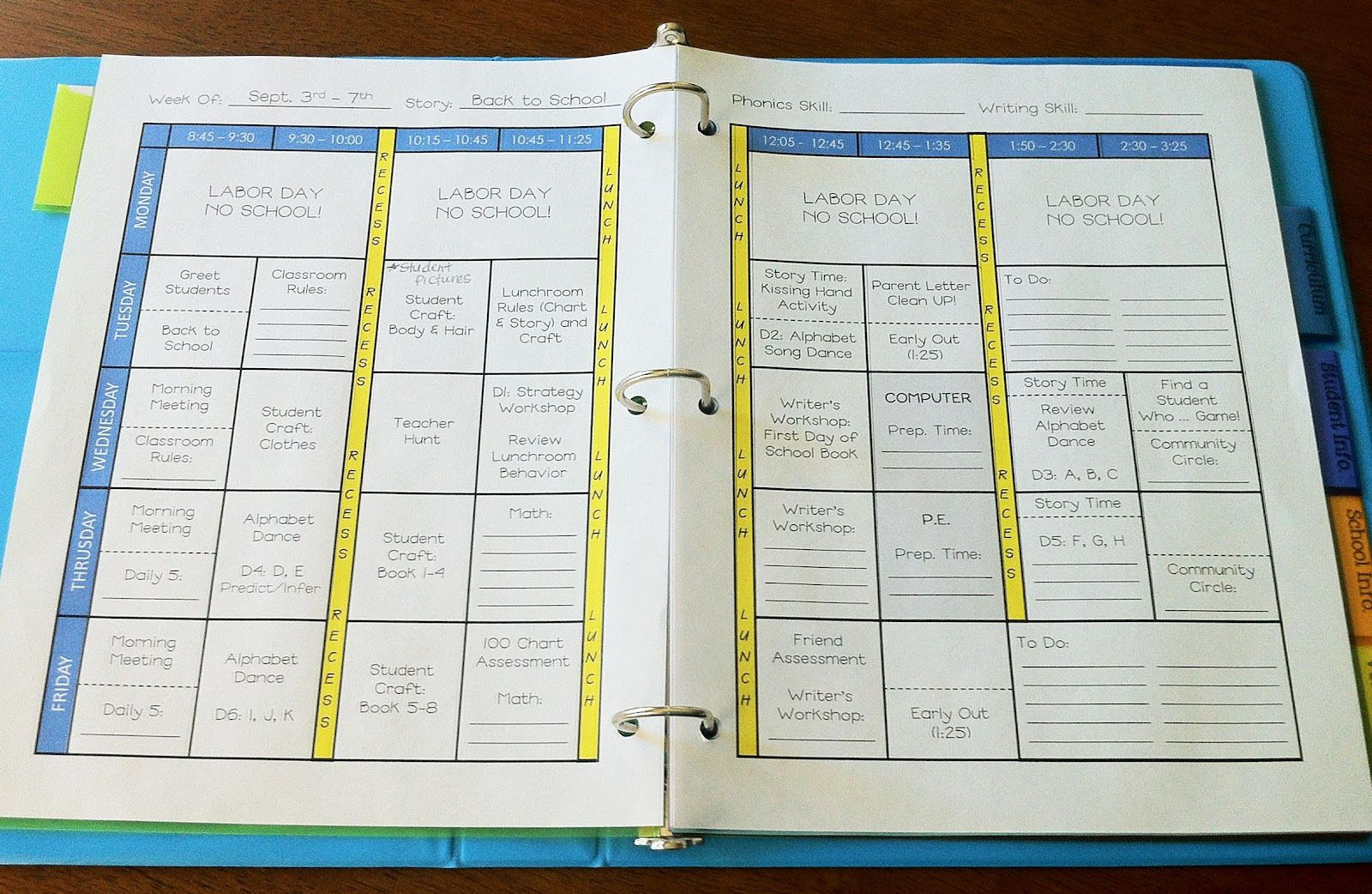 1000+ images about Teacher planners on Pinterest