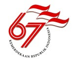 logo 67 tahun indonesia