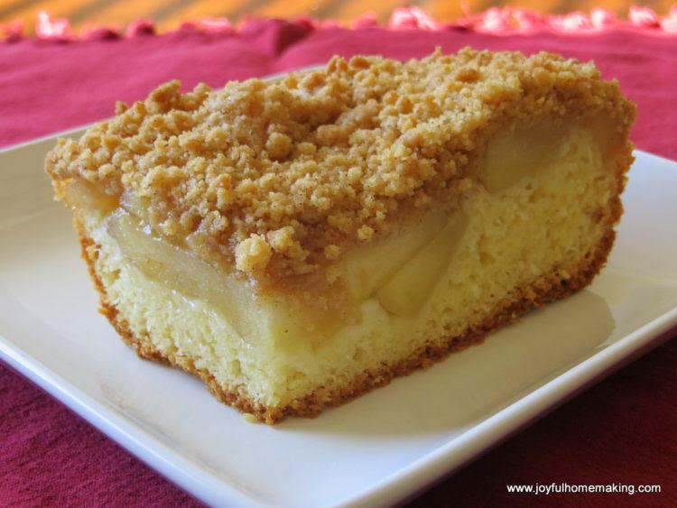 Apple Pie Cake - Joyful Homemaking