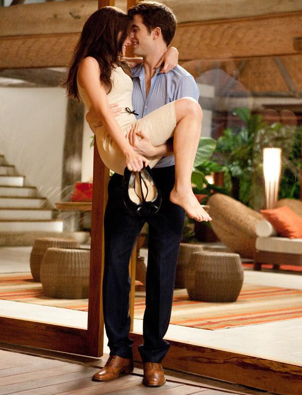 Bella and Edward in Twilight: Breaking Dawn
