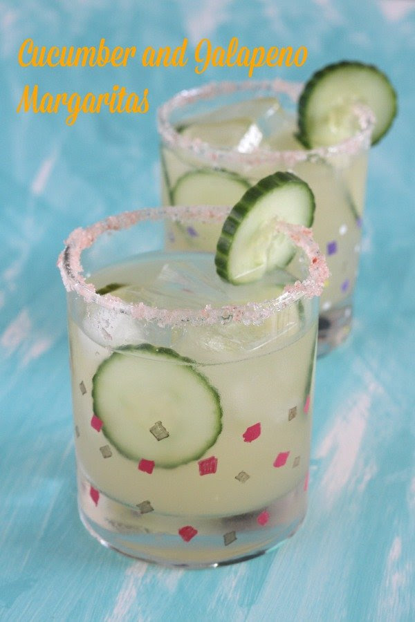 Cucumber and Jalapenos Margaritas
