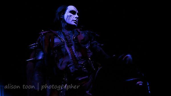 Dani Filth, vocals, Cradle of Filth