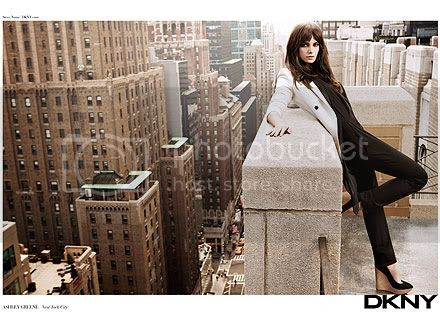Ashley Greene  DKNY Spring 2012  Ads